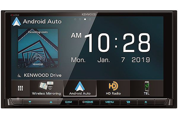 Large image of Kenwood eXcelon Reference Series In-Dash Bluetooth DVD Receiver - DDX-9906XR