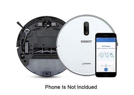 Ecovacs White Robot Vacuum Cleaner - D710