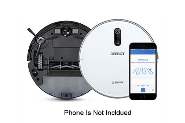 Ecovacs White Robot Vacuum Cleaner - D710