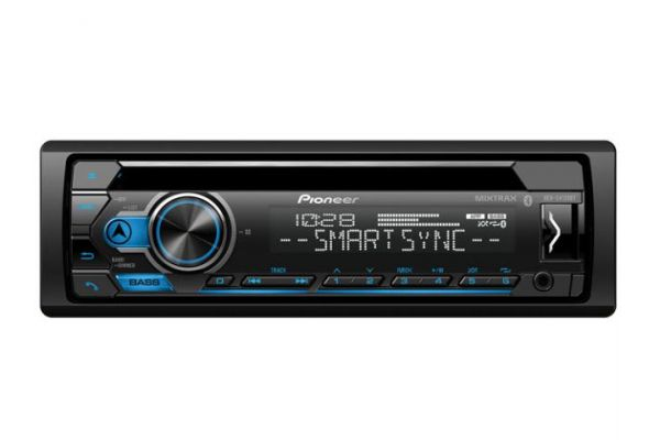 Pioneer Single DIN Receiver With Bluetooth - DEH-S4120BT