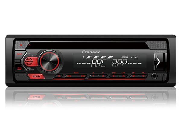 Pioneer Black CD Receiver With Pioneer ARC App - DEH-S1200UB