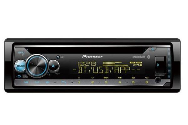 Pioneer Single DIN Receiver With Bluetooth - DEH-S5120BT