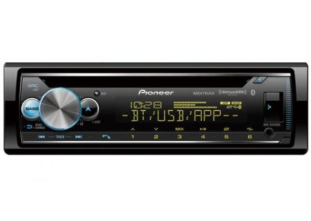 Pioneer Single DIN Receiver With Bluetooth - DEH-S6120BS