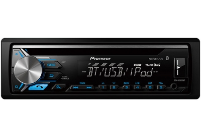 Pioneer - DEH-X3900BT - Car Stereos - Single DIN