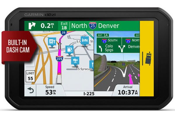 "Garmin Dezl 785 LMT-S 7"" GPS Truck Navigation System With Built-In Dash Cam - 010-01856-00"
