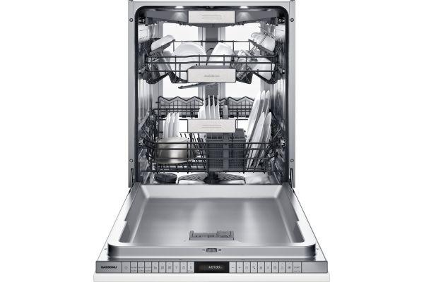 "Large image of Gaggenau 400 Series 24"" Panel Ready Fully Integrated Dishwasher - DF480763"