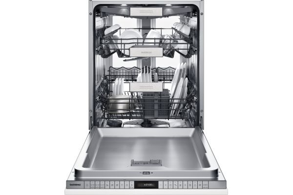 """Large image of Gaggenau 400 Series 24"""" Panel Ready Fully Integrated Dishwasher With Flexible Hinge - DF481763F"""
