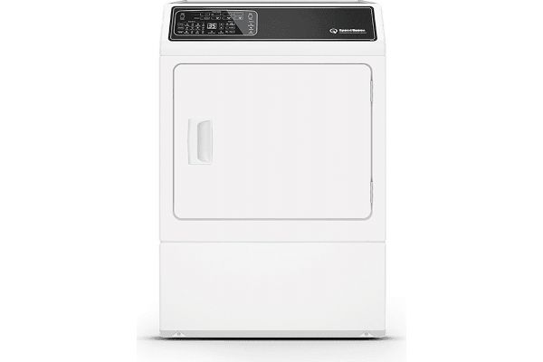 Large image of Speed Queen 7 Cu. Ft. White Front Load Electric Dryer - DF7000WE