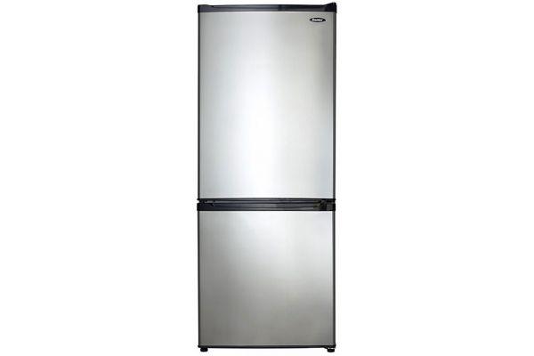Large image of Danby 9.2 Cu. Ft. Stainless Steel Bottom Freezer Refrigerator - DFF092C1BSLDB