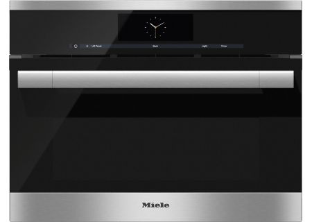 """Miele 24"""" Stainless Steel Combination Steam Oven XL  - DGC67051XLSS"""