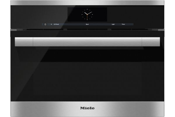 """Large image of Miele 24"""" Stainless Steel Combination Steam Oven XL - 10256760"""
