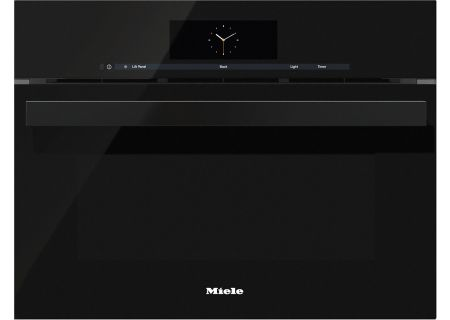 "Miele 24"" Obsidian Black Combination Steam Oven XL  - DGC68001XLOB"