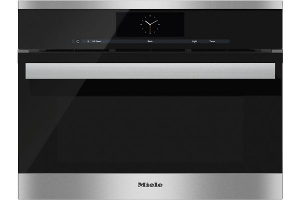 """Large image of Miele 24"""" Stainless Steel Combination Steam Oven XL - 10256810"""