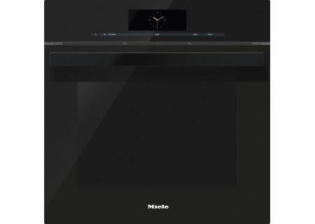 "Miele 24"" Obsidian Black Combination Steam Oven XXL - DGC6865XXLOB"