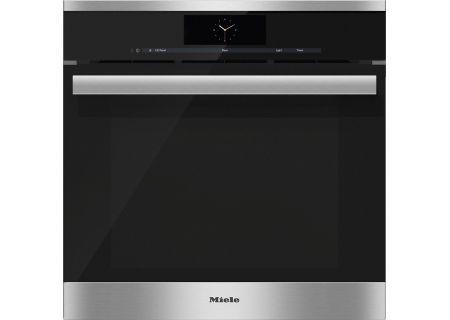 "Miele 24"" Clean Touch Steel Combination Steam Oven XXL - DGC6865XXLSS"