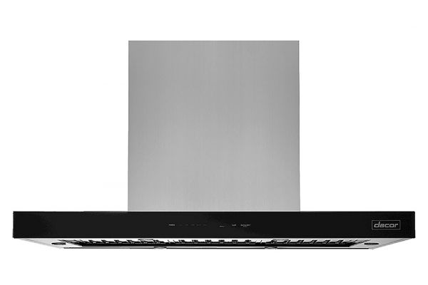 """Large image of Dacor Contemporary 48"""" Stainless Steel Island Hood - DHD48M967IM"""