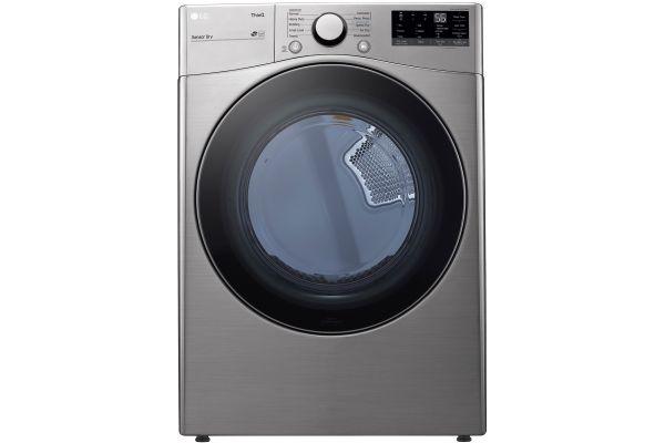 Large image of LG 7.4 Cu. Ft. Graphite Steel Electric Dryer - DLE3600V