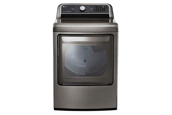 LG 7.3 Cu. Ft. Smart Graphite Steel Electric Dryer - DLE7300VE