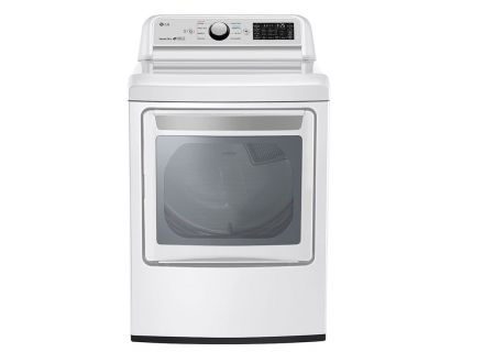 LG 7.3 Cu. Ft. Smart White Electric Dryer - DLE7300WE