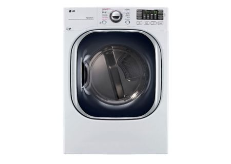LG 7.4 Cu. Ft. White Electric Dryer  - DLEX4370W