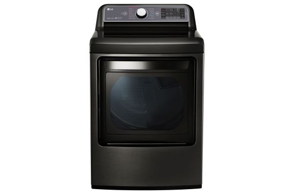 LG 7.3 Cu. Ft. Black Stainless Steel Electric Dryer  - DLEX7600KE