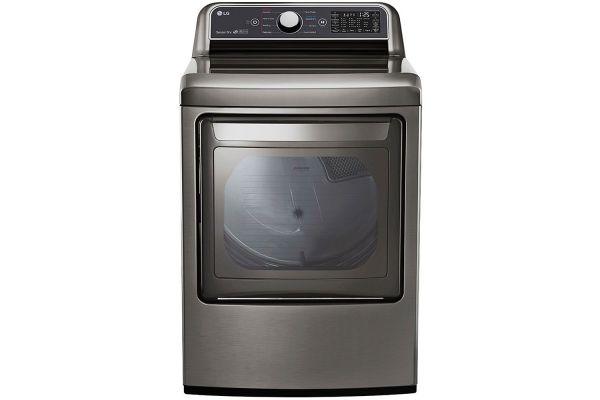 Large image of LG Graphite Steel Smart Gas Dryer - DLG7301VE