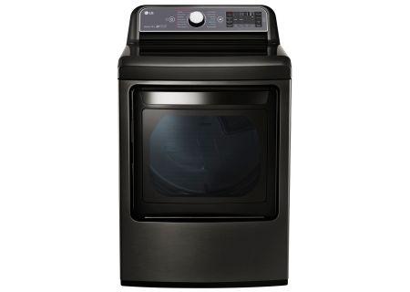 LG 7.3 Cu. Ft. Black Stainless Steel Gas Dryer  - DLGX7601KE