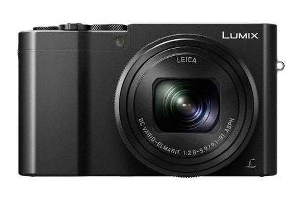 Large image of Panasonic Black LUMIX 4K Digital Camera - DMC-ZS100K