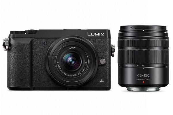 Large image of Panasonic Lumix GX85 4K Mirrorless Digital Camera With 12-32mm And 45-150mm Lenses - DMC-GX85WK
