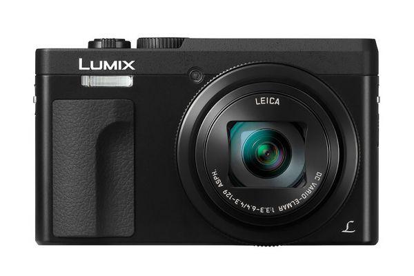 Large image of Panasonic Lumix 4K 20.3MP Black Digital Camera, 30X LEICA DC VARIO-ELMAR Lens - DC-ZS70K