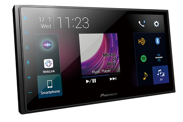 """Pioneer Multimedia Receiver With 6.8"""" WVGA Display - DMH-2660NEX"""