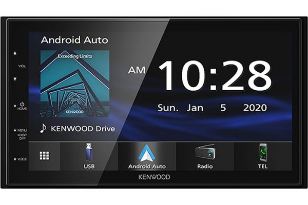 Large image of Kenwood Digital Multimedia Receiver With Bluetooth - DMX-4707S