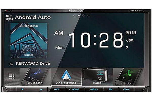 Kenwood eXcelon In-Dash Digital Multimedia Receiver With Bluetooth - DMX-706S