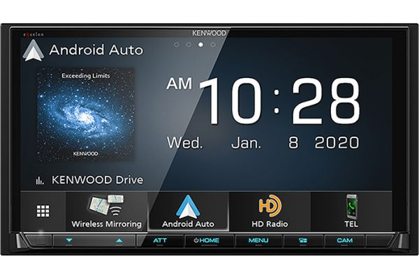 Large image of Kenwood eXcelon Digital Multimedia Receiver With Bluetooth & HD Radio - DMX-907S