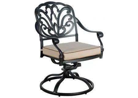 Veranda Classics San Marino Collection Swivel Rocker Dining Chairs - DNSW802-48019-2PK