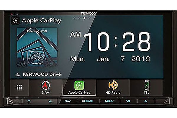 Kenwood eXcelon Reference Series AV Navigation With Bluetooth Receiver - DNX-996XR