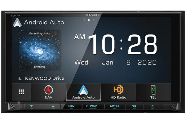 Large image of Kenwood eXcelon Reference Navigation DVD Receiver With Bluetooth & HD Radio - DNX-997XR