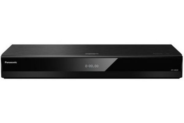 Large image of Panasonic 4K Ultra HD With HDR10 Voice Assist Blu-ray Player - DP-UB820-K