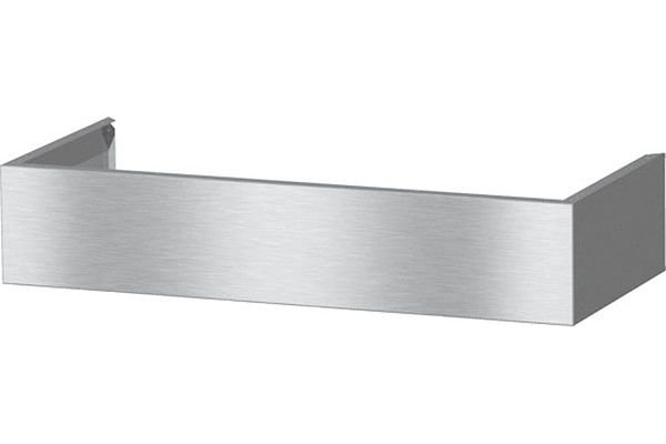 Large image of Miele Stainless Steel Duct Cover Chimney - 09764550