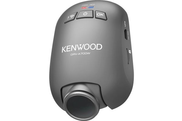 Large image of Kenwood Compact HD Dashboard Cam With Wi-Fi And GPS - DRV-A700WDP
