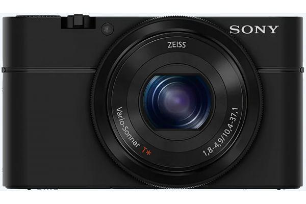 Large image of Sony RX100 Black CyberShot Digital Camera - DSCRX100/B