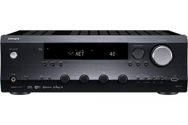 Integra Black Network Stereo Receiver - DTM-6