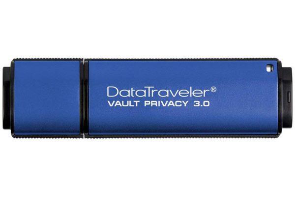 Large image of Kingston 32GB DataTraveler Vault Privacy 3.0 Flash Drive - DTVP30/32GB