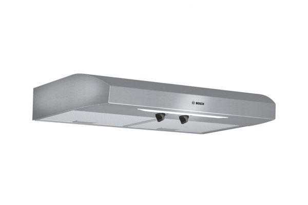 """Large image of Bosch 30"""" Under-Cabinet Stainless Steel Wall Hood - DUH30152UC"""