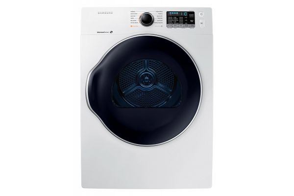 Large image of Samsung White Electric Dryer - DV22K6800EW/A1