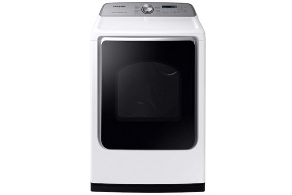 Samsung 7.4 Cu. Ft. White Electric Dryer - DVE54R7600W