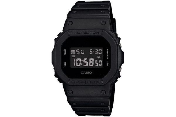 Large image of G-Shock Digital Black Mens Watch - DW5600BB-1