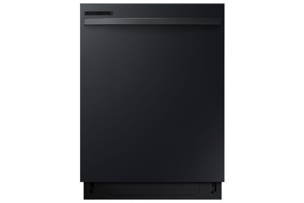 "Large image of Samsung 24"" Black Dishwasher With Integrated Digital Touch Controls - DW80R2031UB/AA"