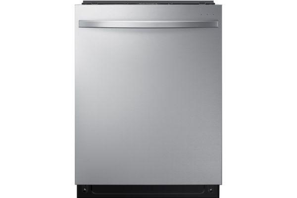 "Large image of Samsung 24"" Fingerprint Resistant Stainless Steel Built-In Dishwasher - DW80R7061US/AA"