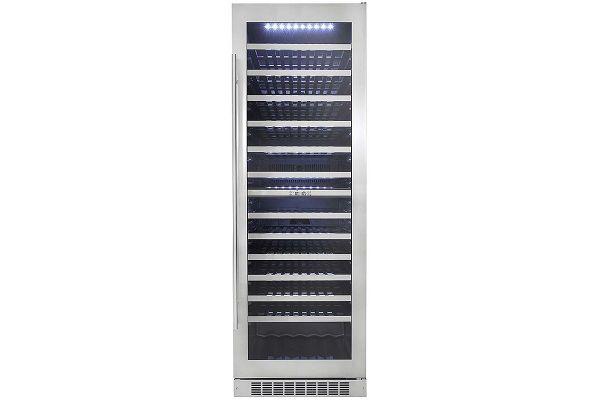 "Danby Silhouette Series 23.5"" Built-In Stainless Steel Wine Cellar - DWC140D1BSSPR"